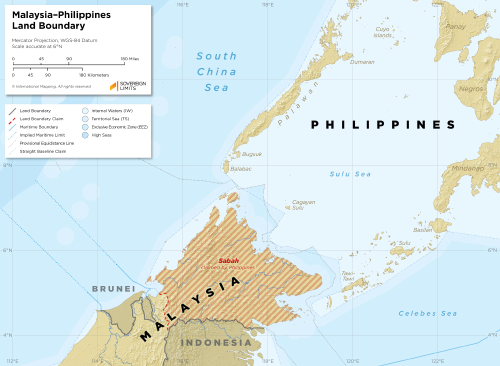Malaysia–Philippines Land Boundary | Sovereign Limits