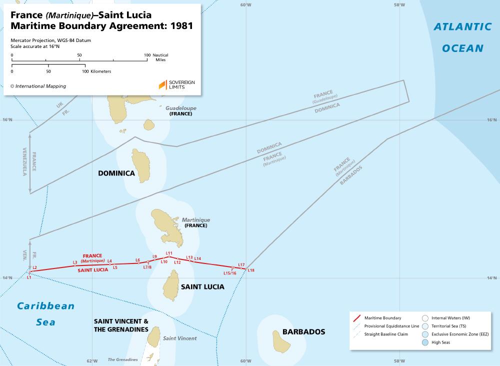Sovereign Limits France Martiniquesaint Lucia Sovereign Limits
