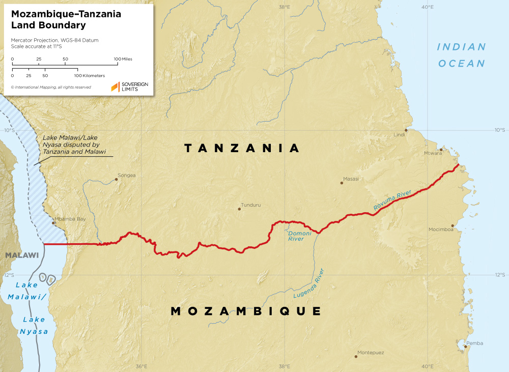 Mozambique – Tanzania land boundary